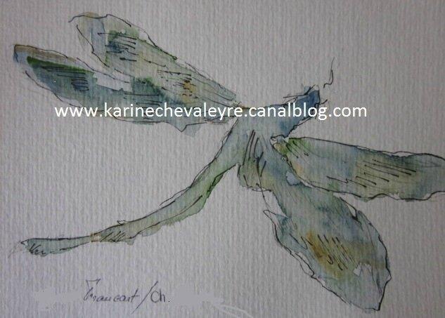 Insecte VII - La libellule
