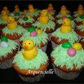 Cupcakes de pâques détail