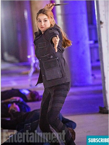 Shailene Woodley as Tris Divergent movie