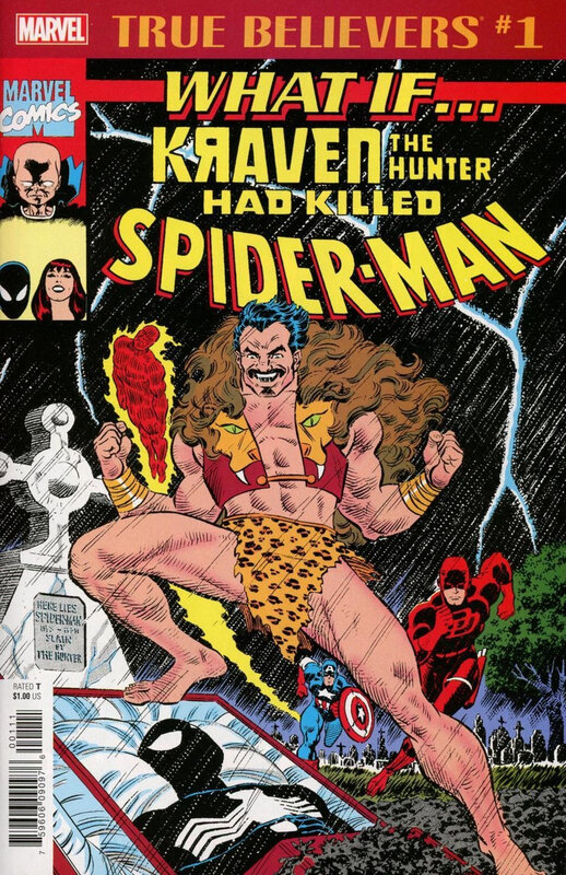 true belivers what if kraven had killed spiderman
