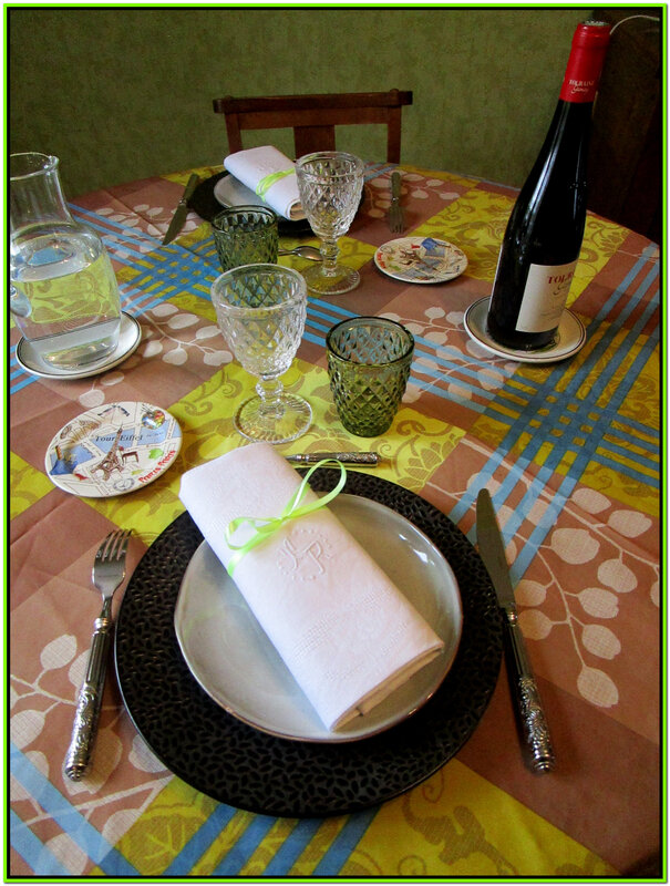 Table baroqueC