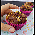 Muffins infiniments chocolat
