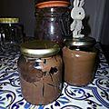 Pâte à tartiner haricots rouge/chocolat