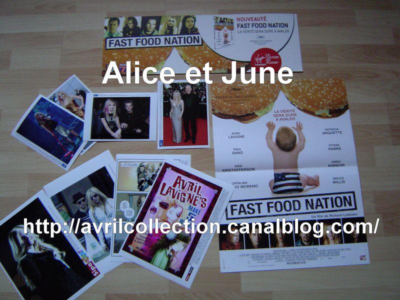 Photos presse+ Panneau-affiche Fast Food Nation
