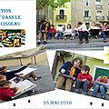 L'art dans le ruisseau en photos 28 mai 2016