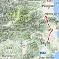 Etape 13 : de girona à le boulou - france (70kms 580m+)