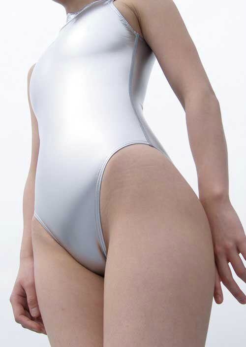 Realise Swimsuit N-007sh Silver right Profile Side
