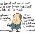 Gérard longuet, la halde, issus du corps français traditionnel et discrimination nation