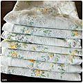 Fabrication de mouchoirs en tissu