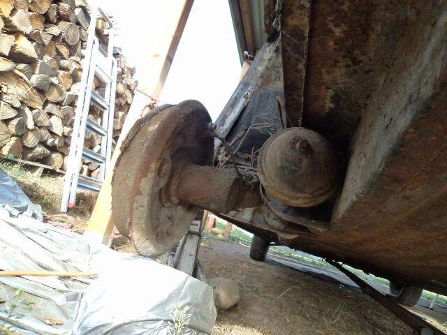 démontage réservoir et début hydraulique 036
