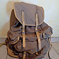 S1557 : sac à dos lafuma 70's