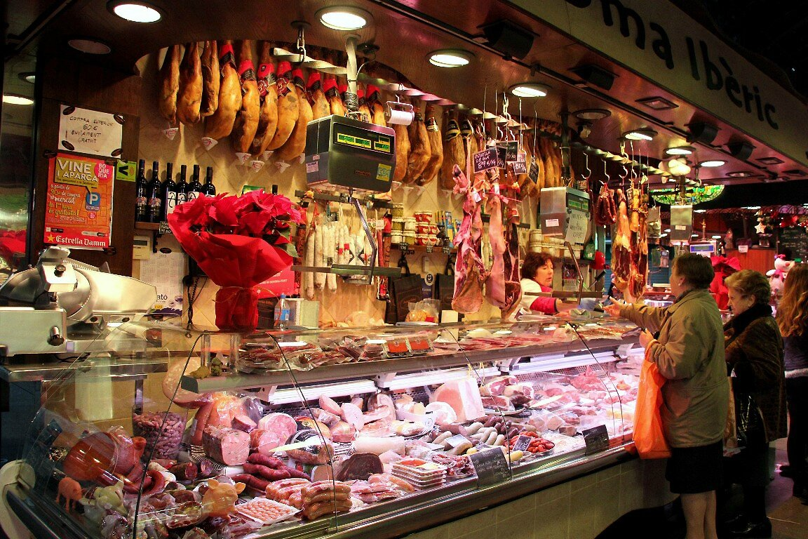 Barcelone, Mercat de la Boqueria_5141