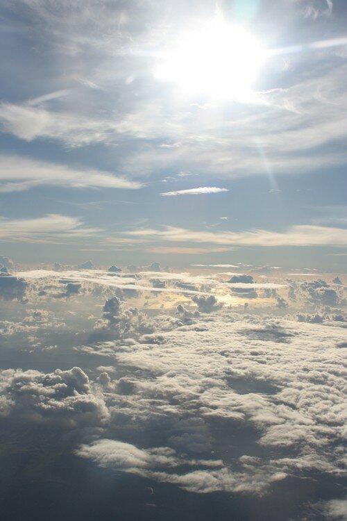 Au dessus des nuages d'Australie