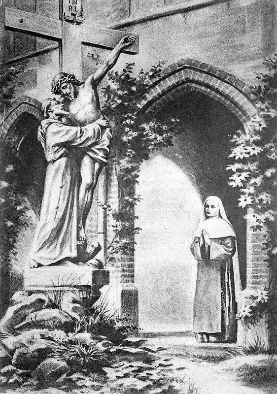 919_001_33-cloitre-du-monastere-des-clarisses-de-bordeaux-talence-soeur-marie-celine-en-priere