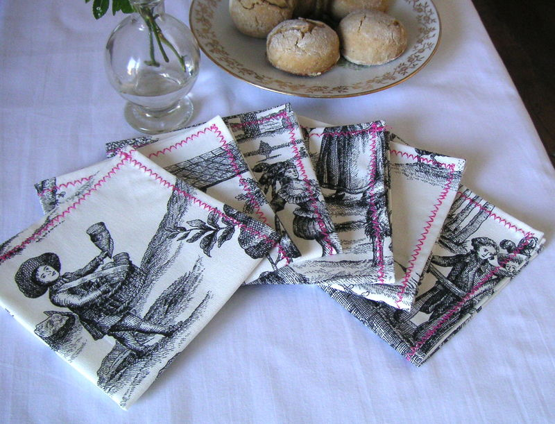 kit de serviettes de table