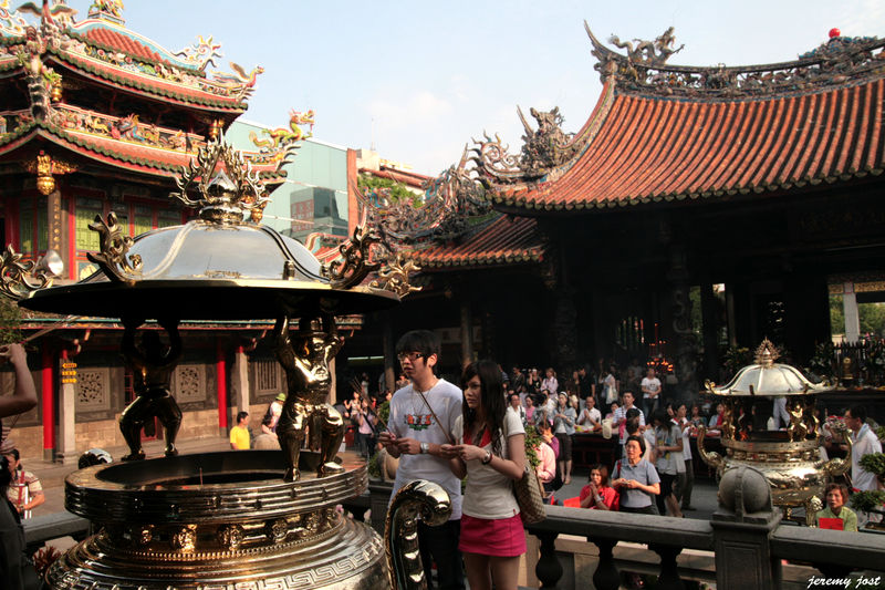 Temple Longshan taipei