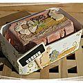 Petite boîte à oeufs pour mon fils et une carte