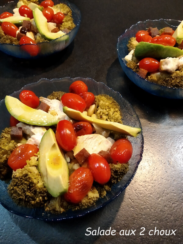 Salade aux 2 choux