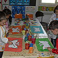 684-Des papillons à l'encre, à la peinture (M.S.)
