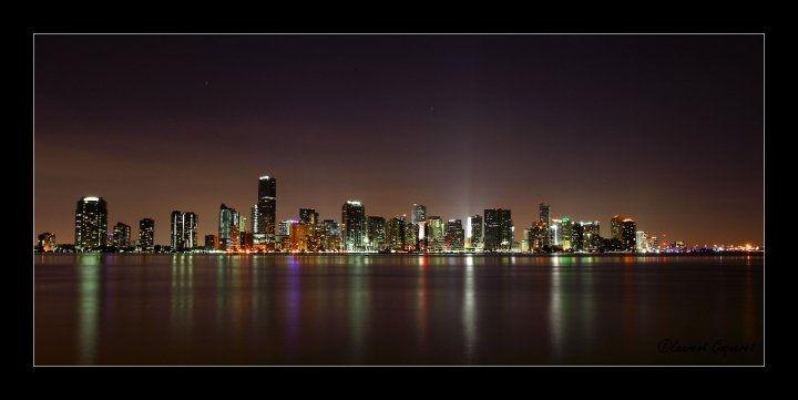 Miami by night