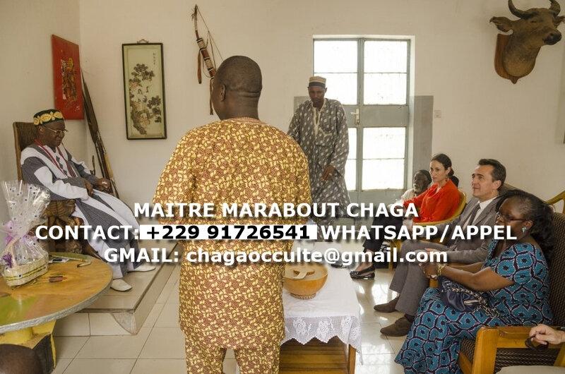 PLUS GRAND ET PUISSANT MAITRE MARABOUT D'AFRIQUE ET DU MONDE CHAGA