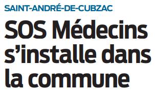2020 11 20 SO SOS médecins s'installe dans la commune