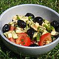Salade a l'italienne pour mon cheri