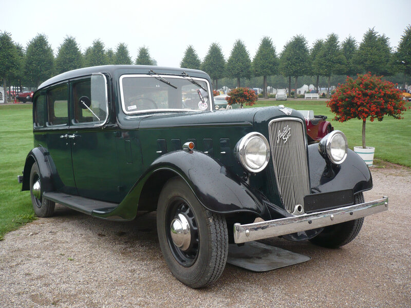 AUSTIN Twenty Mayfair limousine 1937 Schwetzingen (1)