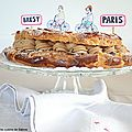 Paris-brest à la carte