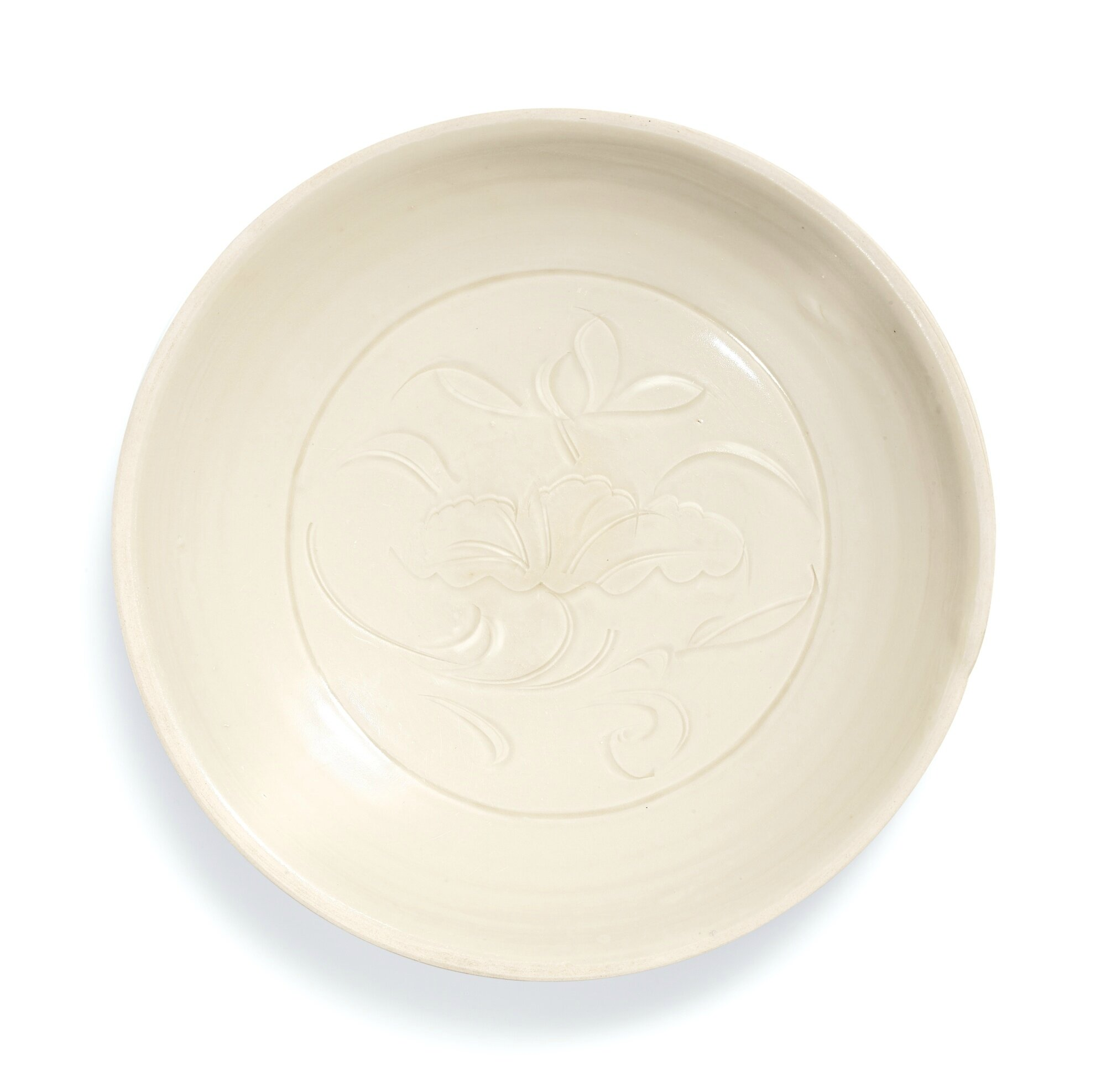 A Dingyao carved 'Lotus' dish, Northern Song dynasty (960-1127)