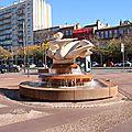 Statue sur les allées Jean Jaurès