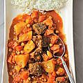 Curry de boeuf sud-africain
