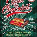 Salon du chocolat....