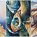 Stage aquarelle : matières et textures - 21 septembre 2019