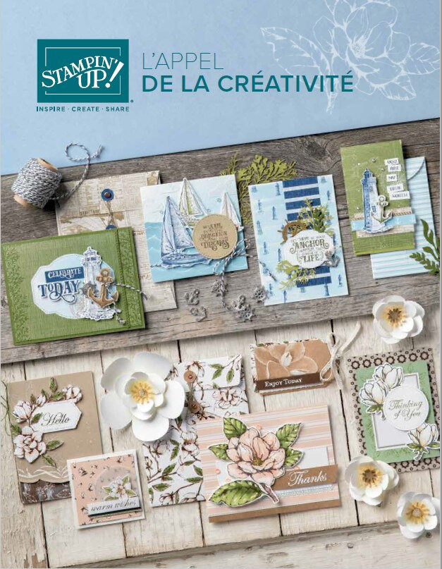Stampin'Up! - Catalogue annuel 2019-2020