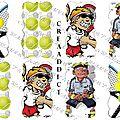 Etiquettes tennis
