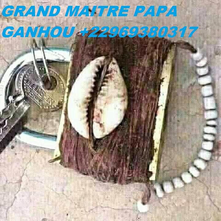Le cadenas sacré Gankpin d'amour du grand marabout papa ganhou