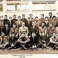 Fourmies - le collège technique en 1960