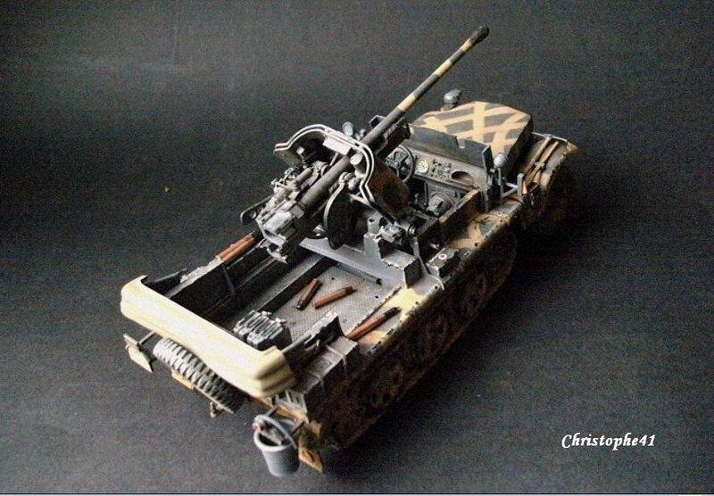Demag D7 ( Sdkfz 10 ) avec Pak 38 - PICT1396