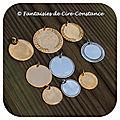 Médailles pl or argent