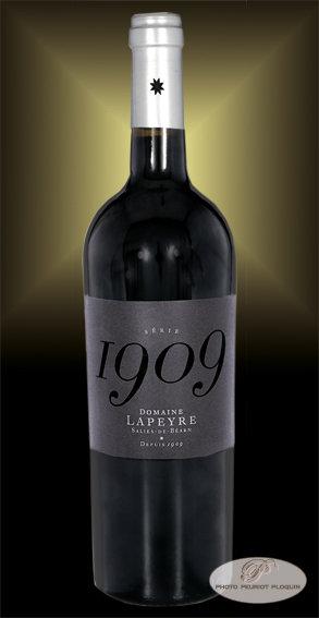 LAPEYRE_rouge_serie_1909_100%_Tannat_bouteille