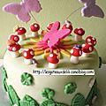 Gâteau enchanté et gâteau pour un menuisier !