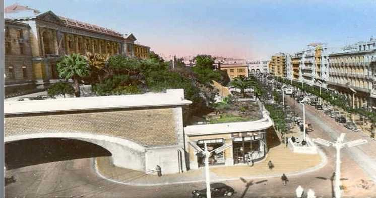 Alger 1950-tunnel des facs