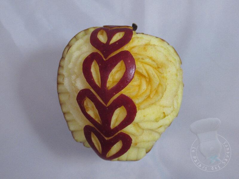 Pomme fleur #7