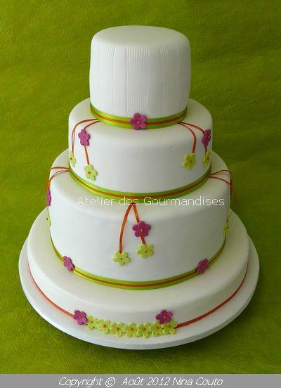 atelier des gourmandises wedding cake JULIE 1
