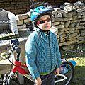 Première sortie en vélo