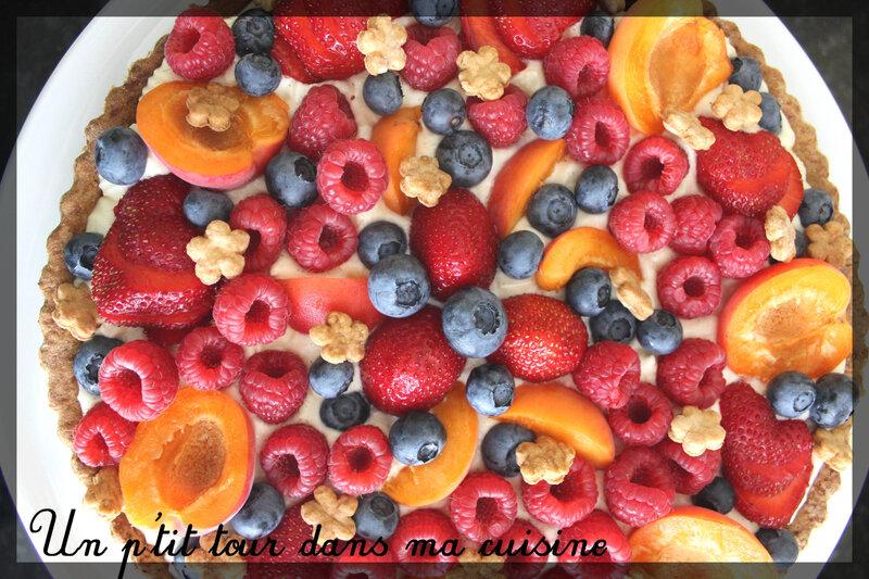Tarte fruits frais tiramisu