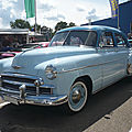 CHEVROLET Styleline DeLuxe 4door Sedan 1949 Sinsheim (1)