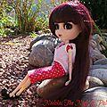 Shizuka in my garden
