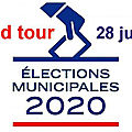 Municipales 2020 (3) : et le second tour arriva…